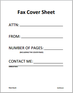 fax cover letter, free fax cover sheet