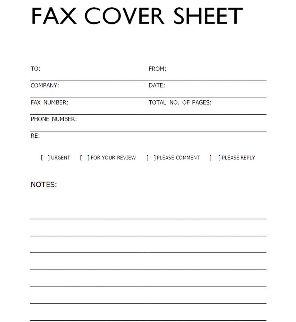 Free Printable Fax Cover Letter from faxcover-sheet.com