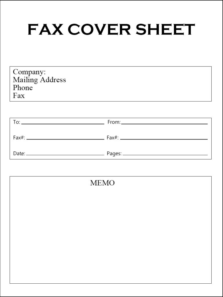 holiday fax cover sheet free